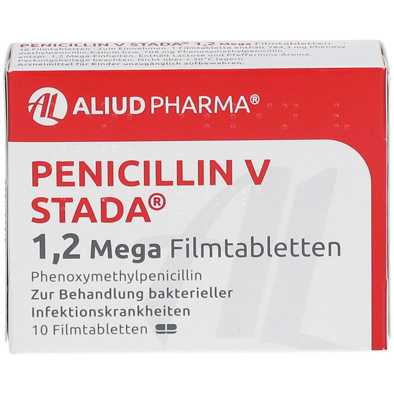 Penicillin V STADA® 1,2 Mega 10 St - shop-apotheke.com