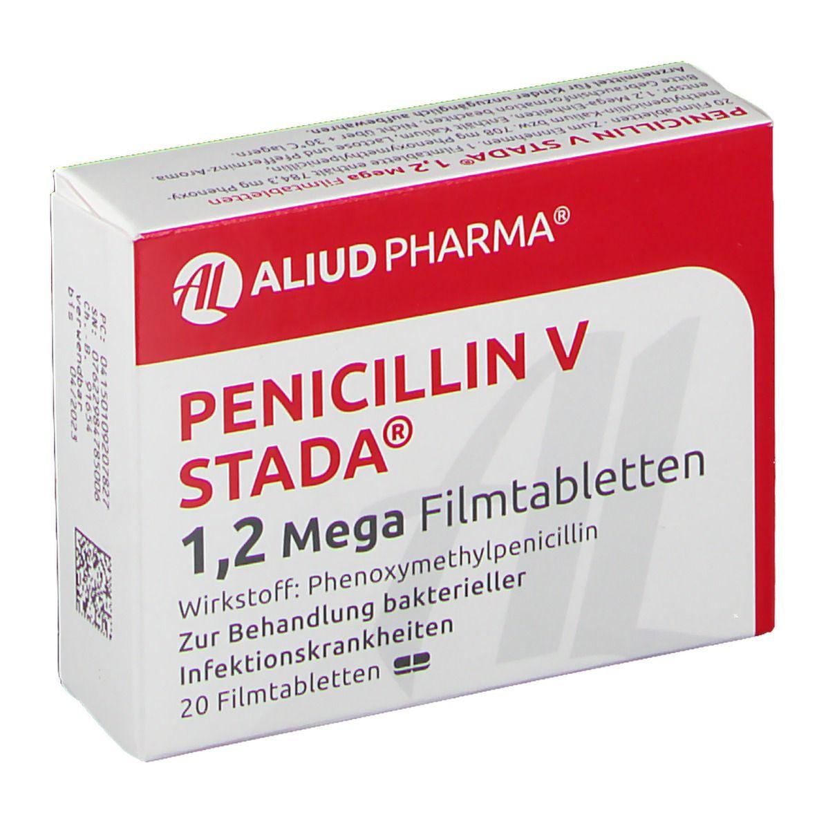 Penicillin V STADA® 1,2 Mega 20 St - shop-apotheke.com