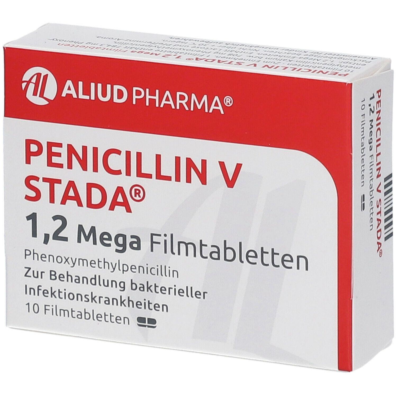PENICILLIN V STADA 1,2 Mega Filmtabletten ALIUD 10 St