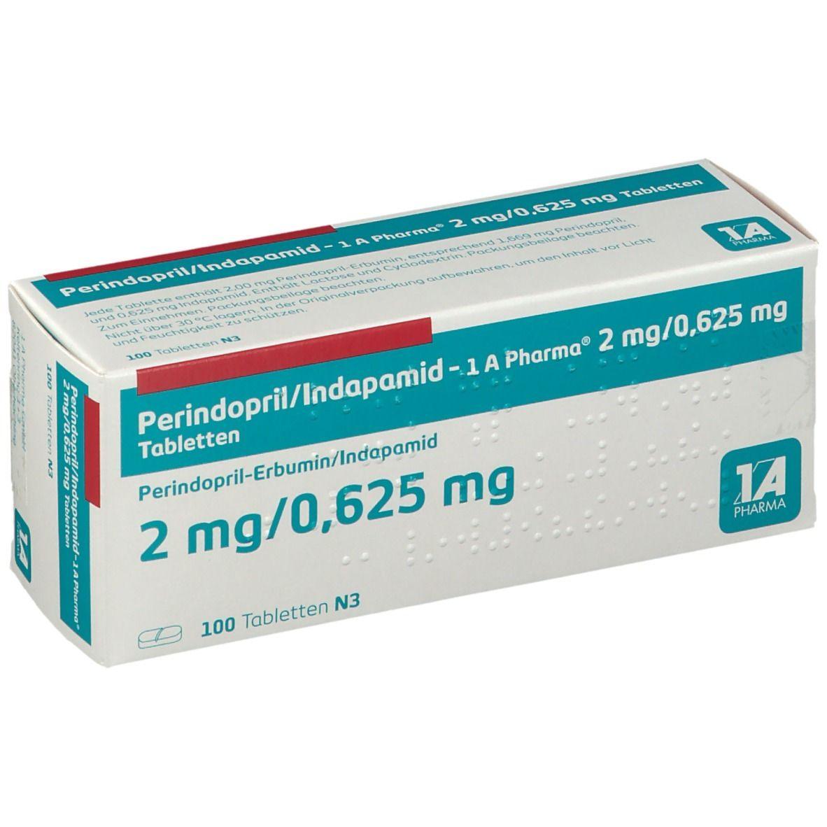 Perindopril/Indapamid   22020 A Pharma® 220 mg/20,62205 mg 220202020 St   shop ...