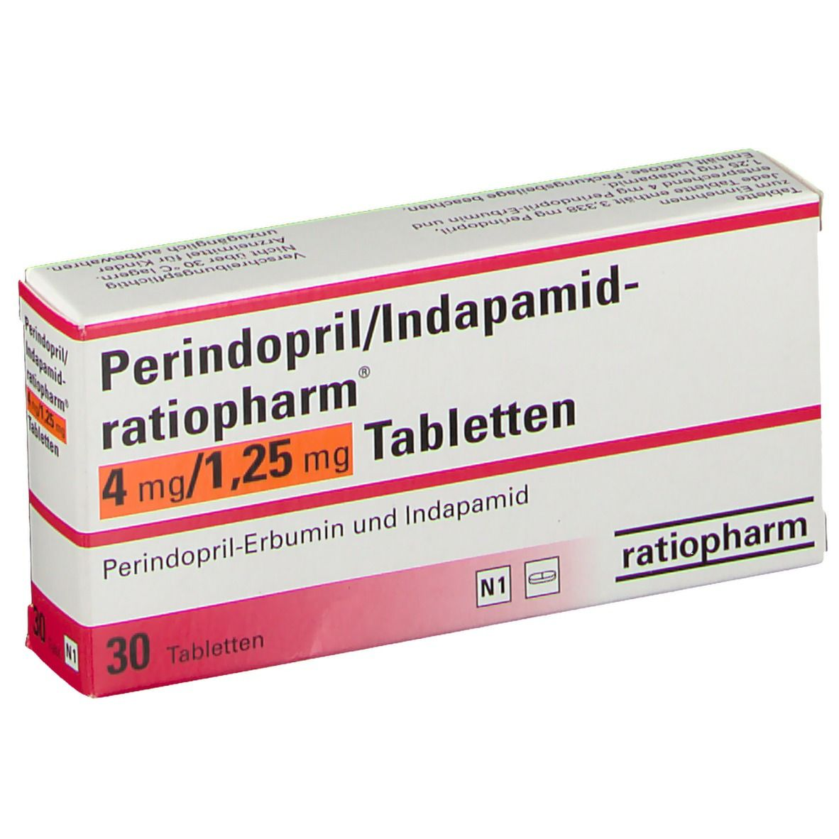 Perindopril/Indapamid ratiopharm® 20 mg/20,20 mg 20 St   shop ...
