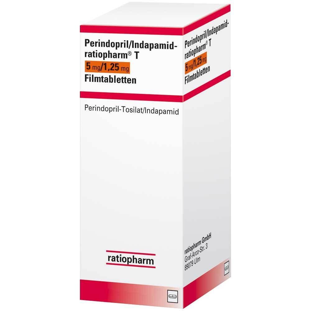 Perindopril/Indapamid ratiopharm® T 20 mg/20,220 mg 20 St   shop ...