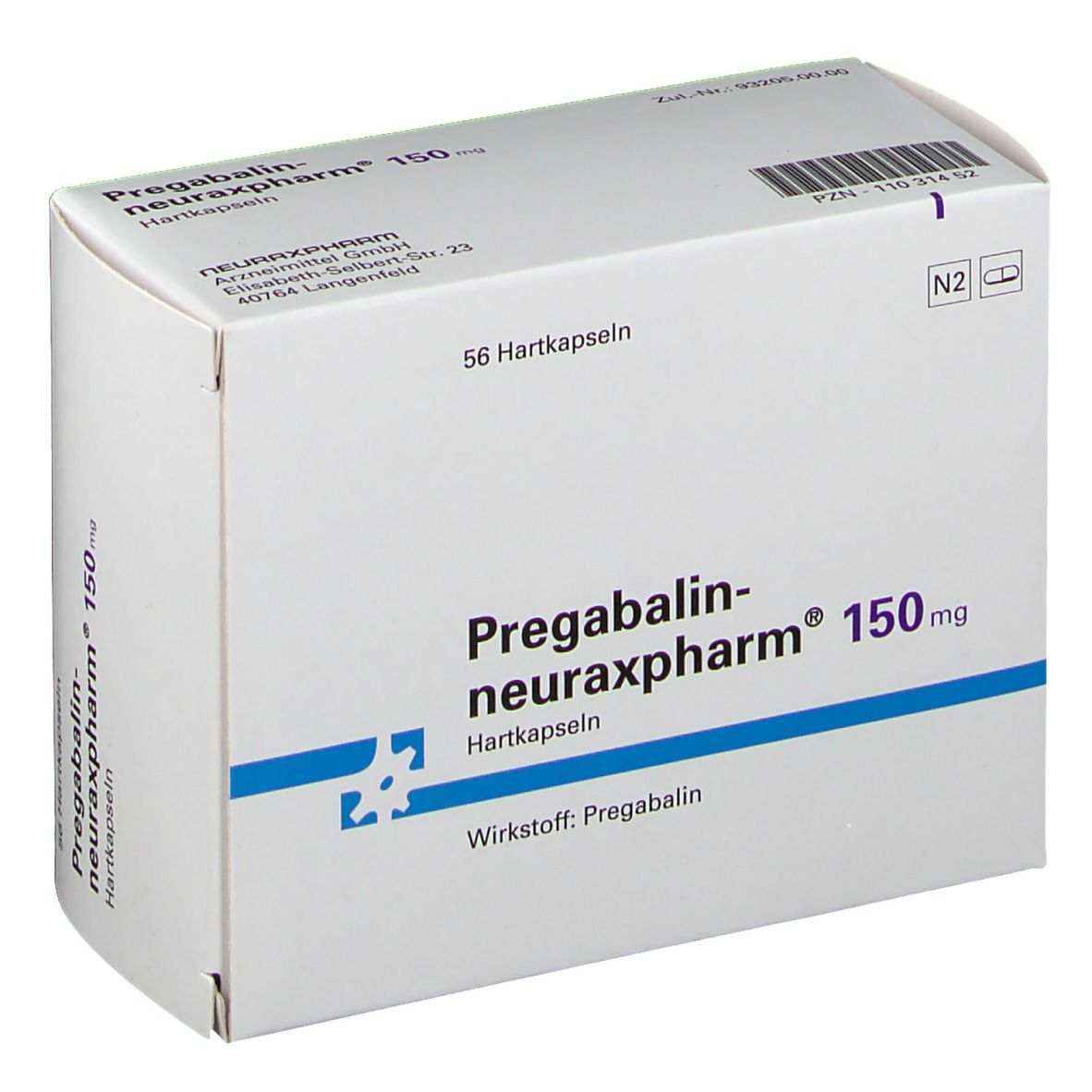 PREGABALIN neuraxpharm 150 mg Hartkapseln