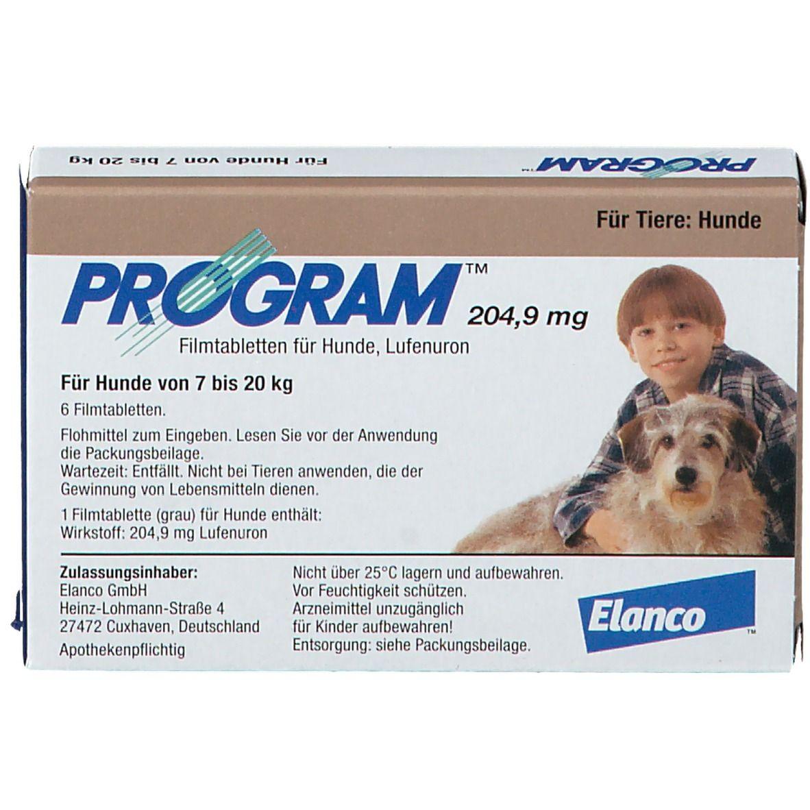 Program Für Hunde 204 9 Mg 6 St Shop Apotheke Com