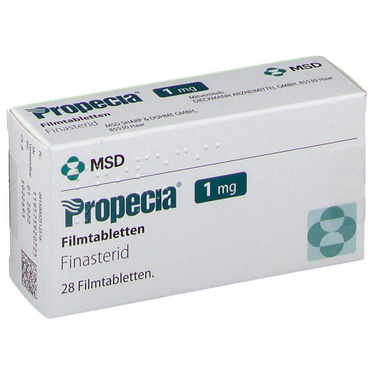 Propecia® 1 mg 28 St - shop-apotheke.com