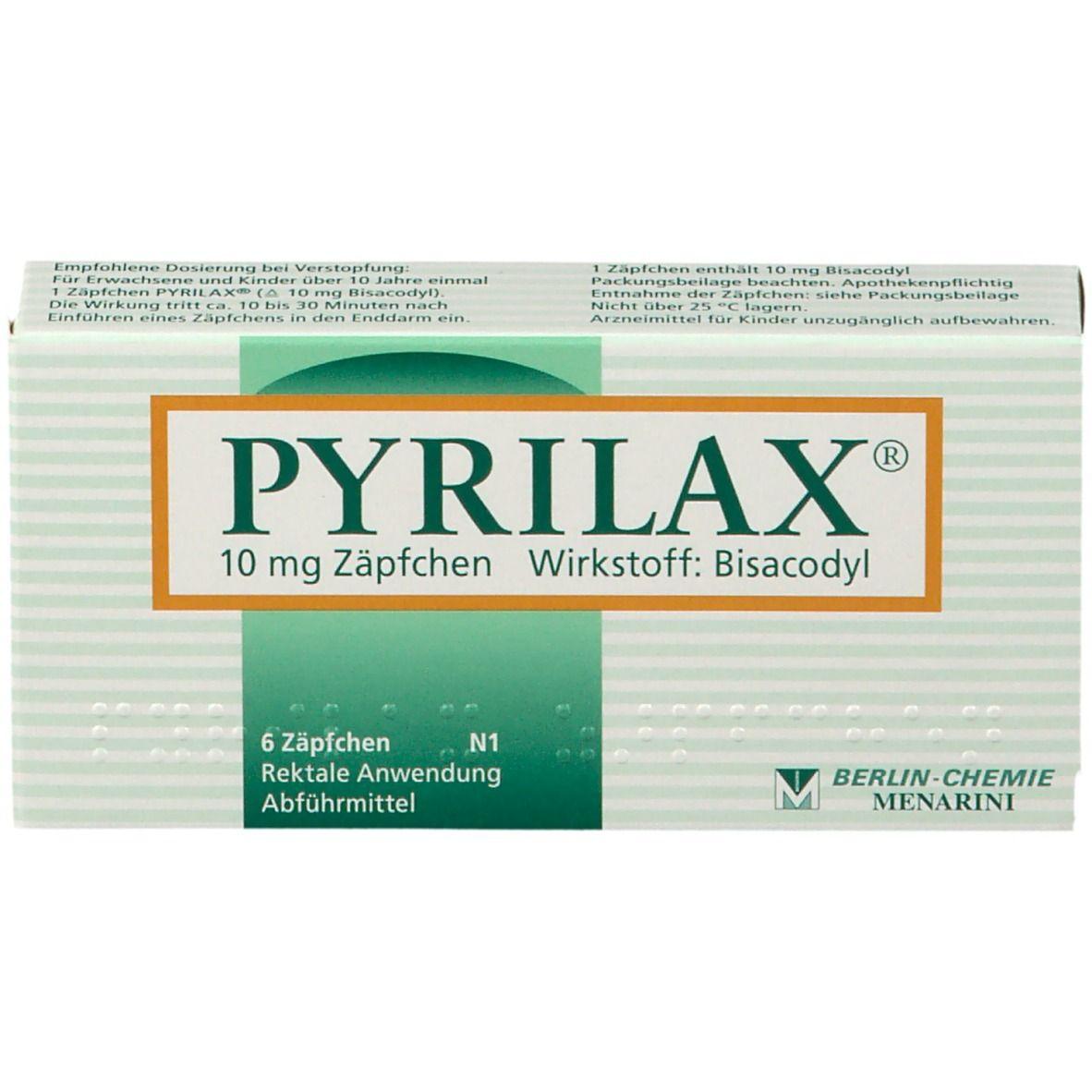 Einführen erwachsene zäpfchen Glycilax