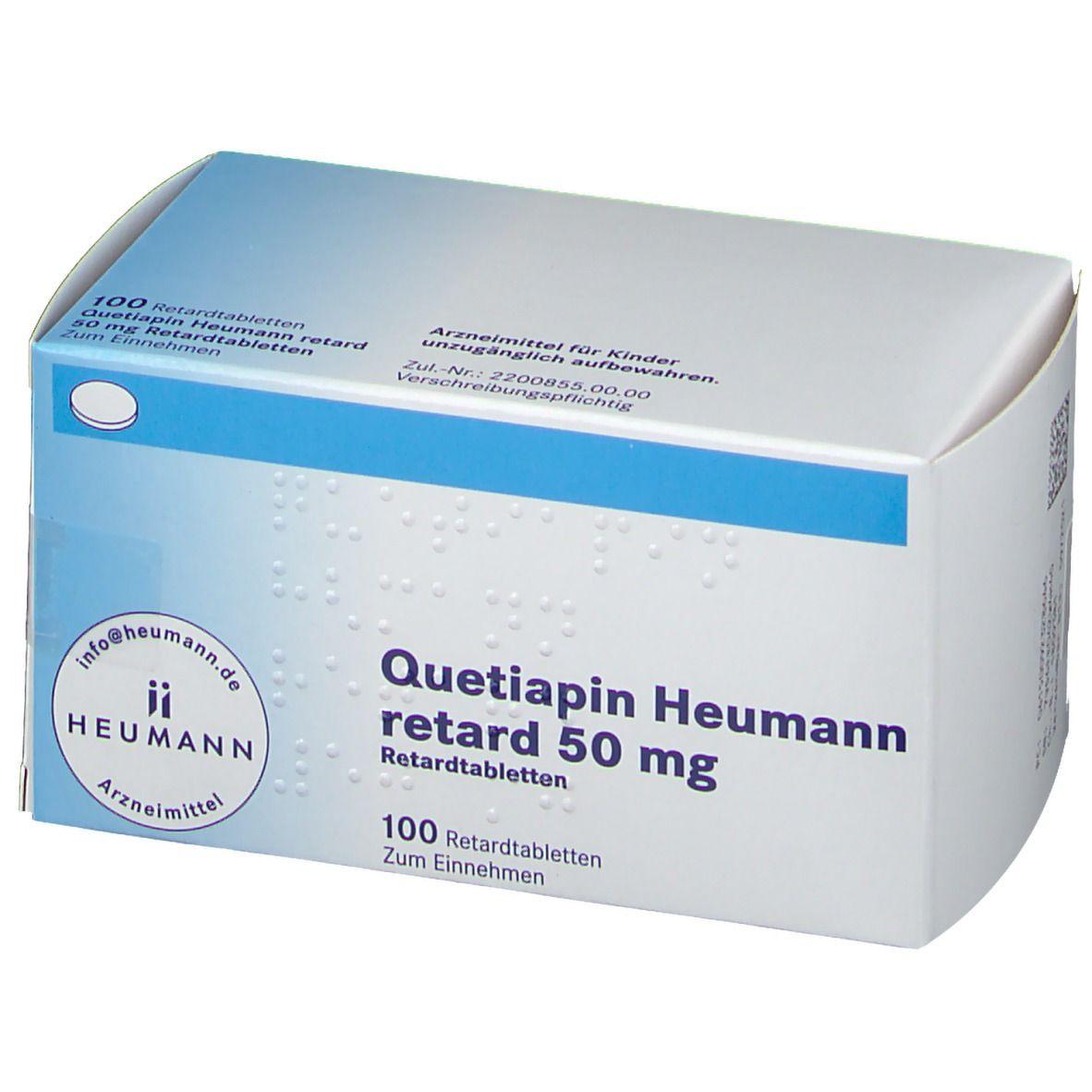 Quetiapin Heumann retard 20 mg 20 St   shop apotheke.com