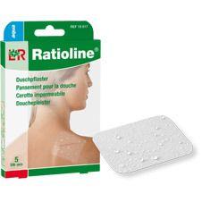Ratioline® aqua Transparentes Duschpflaster 5 x 7 cm