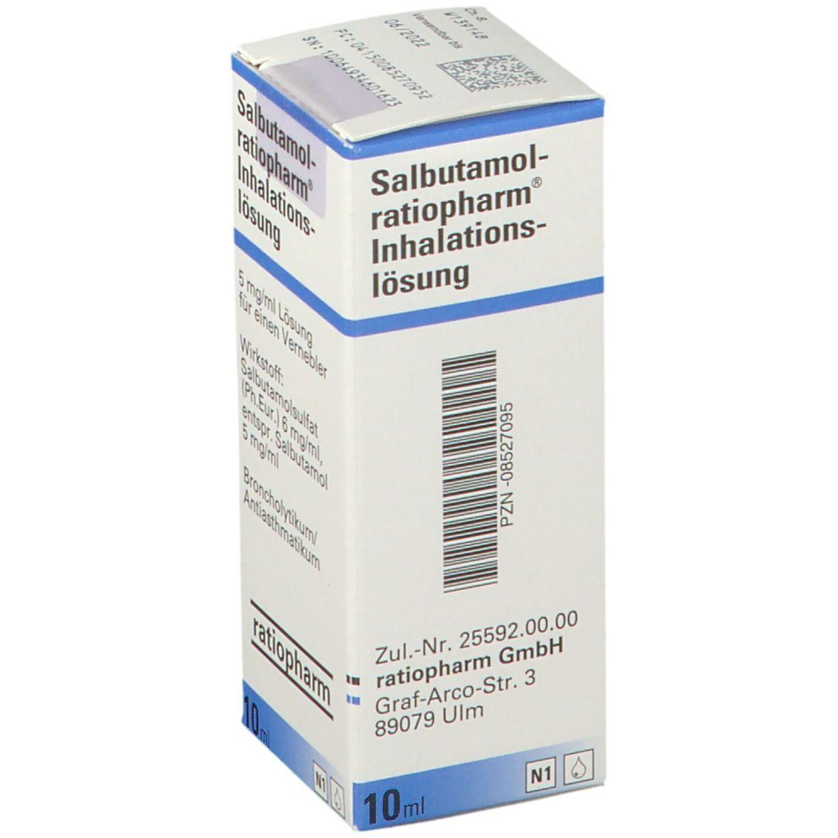 Salbutamol Tropfen Baby