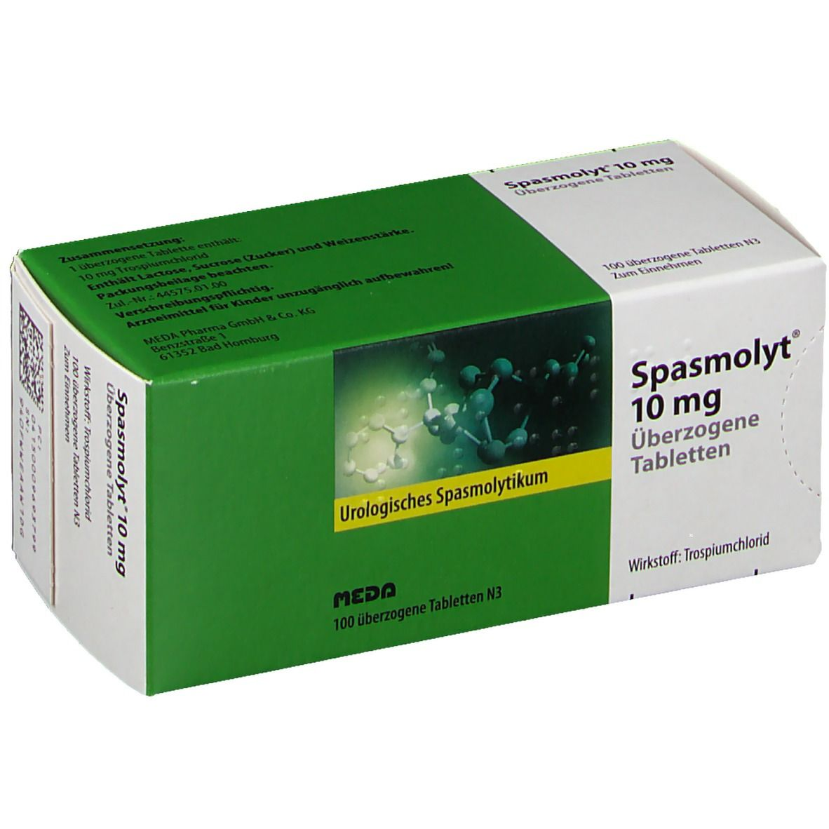 Spasmolyt 10 mg Dragees