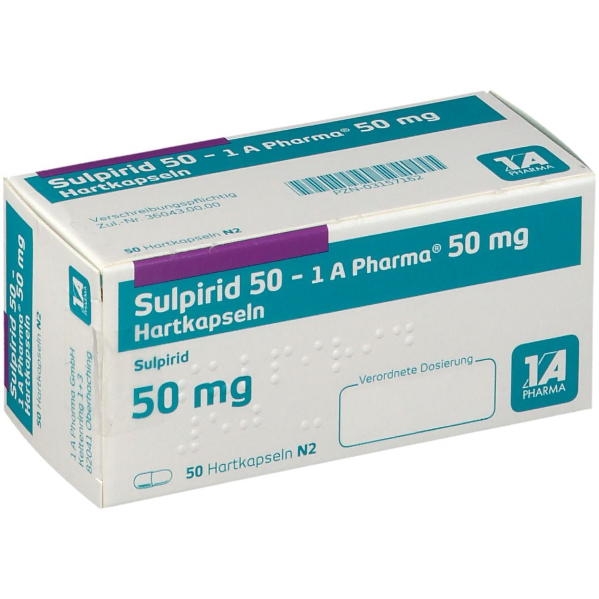 SULPIRID 50 1A Pharma Kapseln