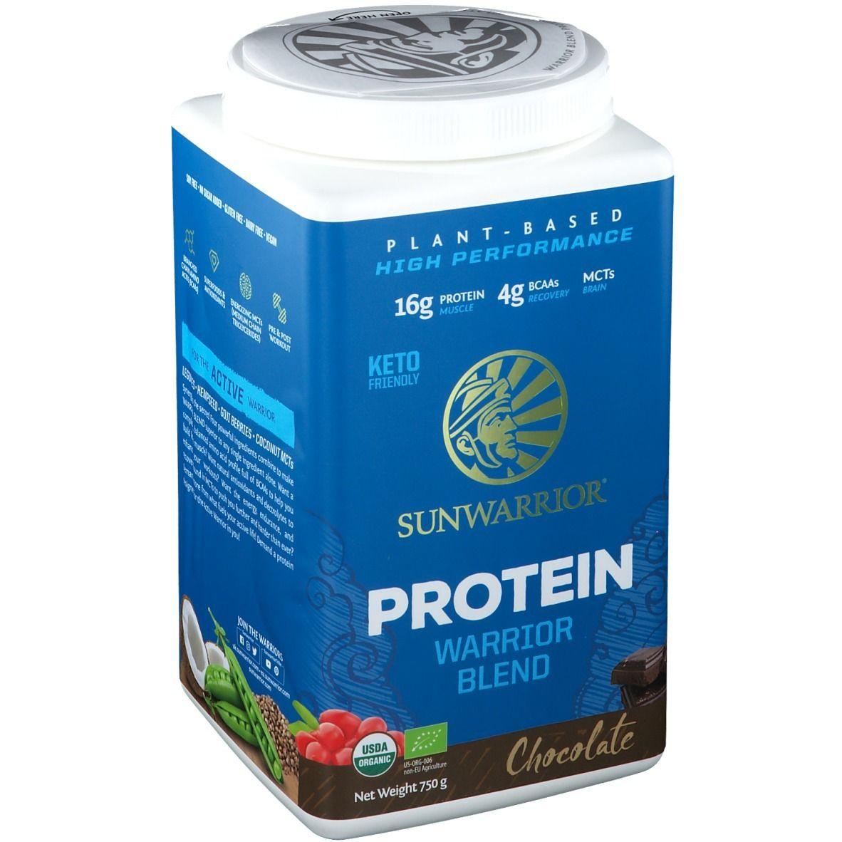 SUNWARRIOR® Protein Warrior Blend Chocolate