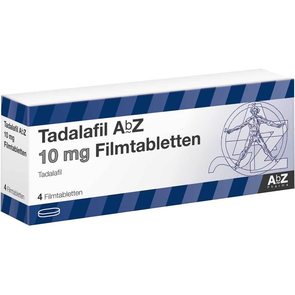 TADALAFIL AbZ 10 mg Filmtabletten