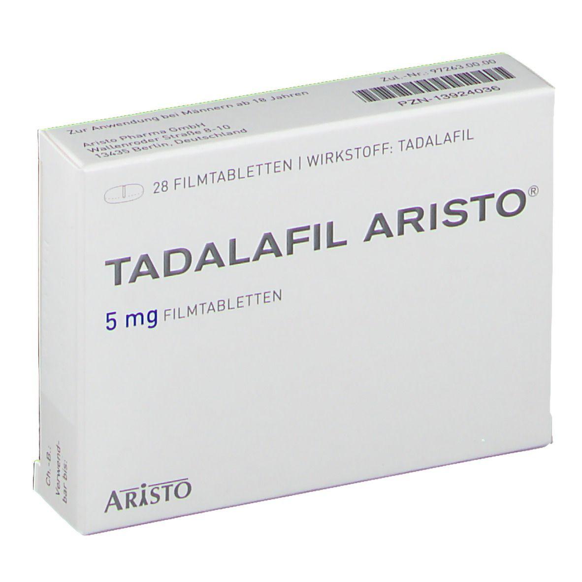 tadalafil gegen prostatavergrößerung