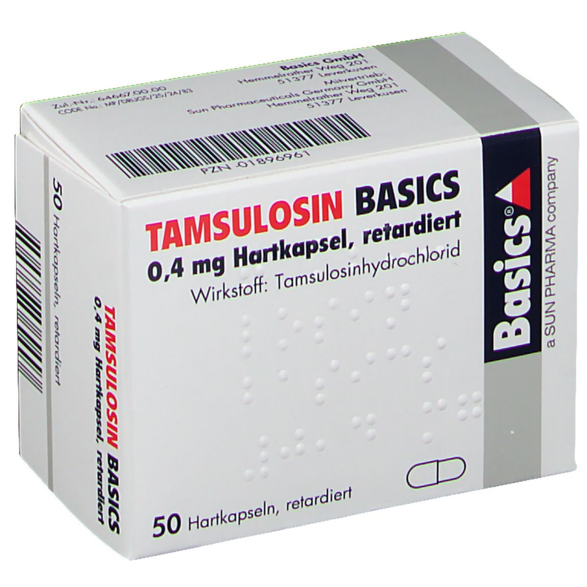 prostata medikamente tamsulosin