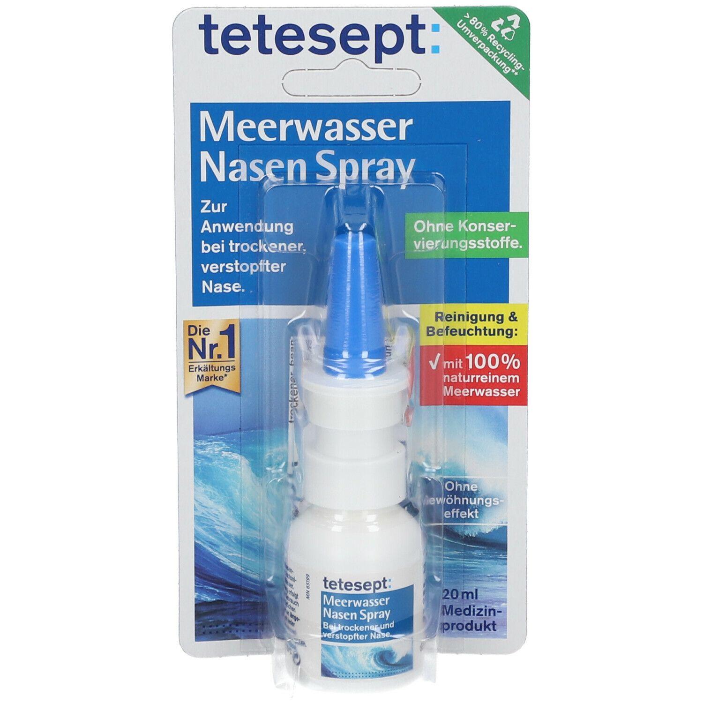 Tetesept Meerwasser Nasenspray Schwangerschaft