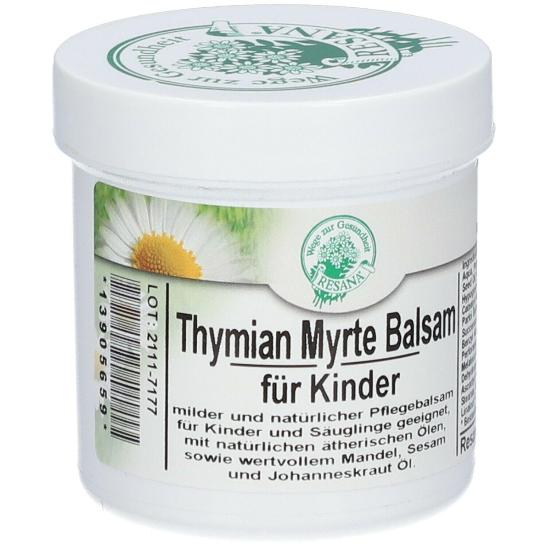 Thymian Myrte Balsam für Kinder Resana