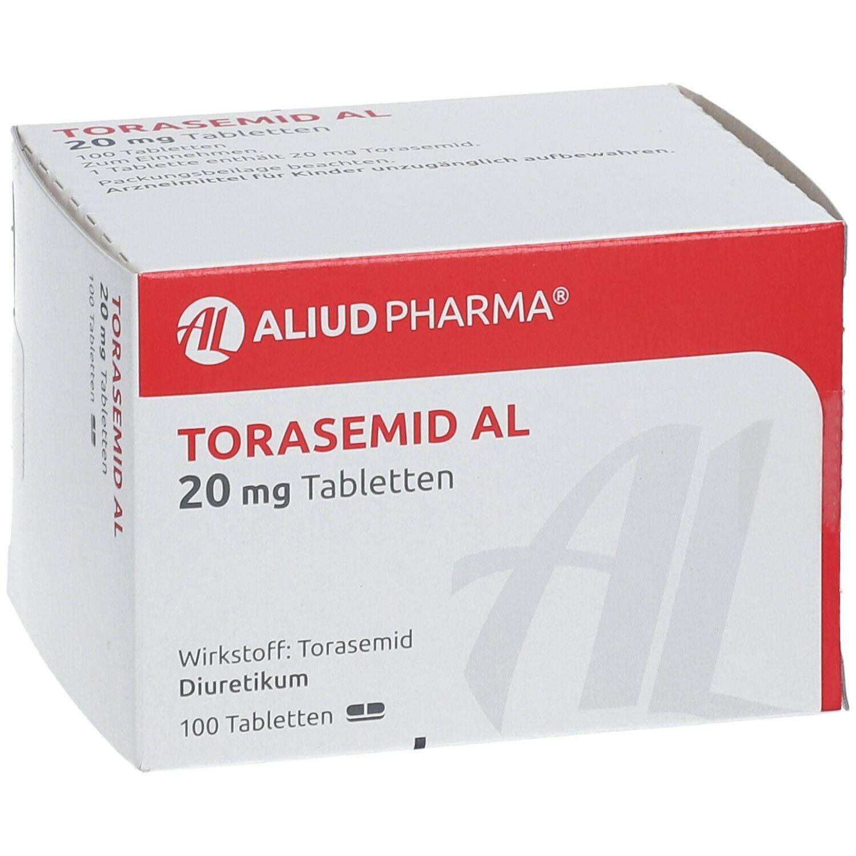 Wassertabletten Torasemid Al 20 Mg