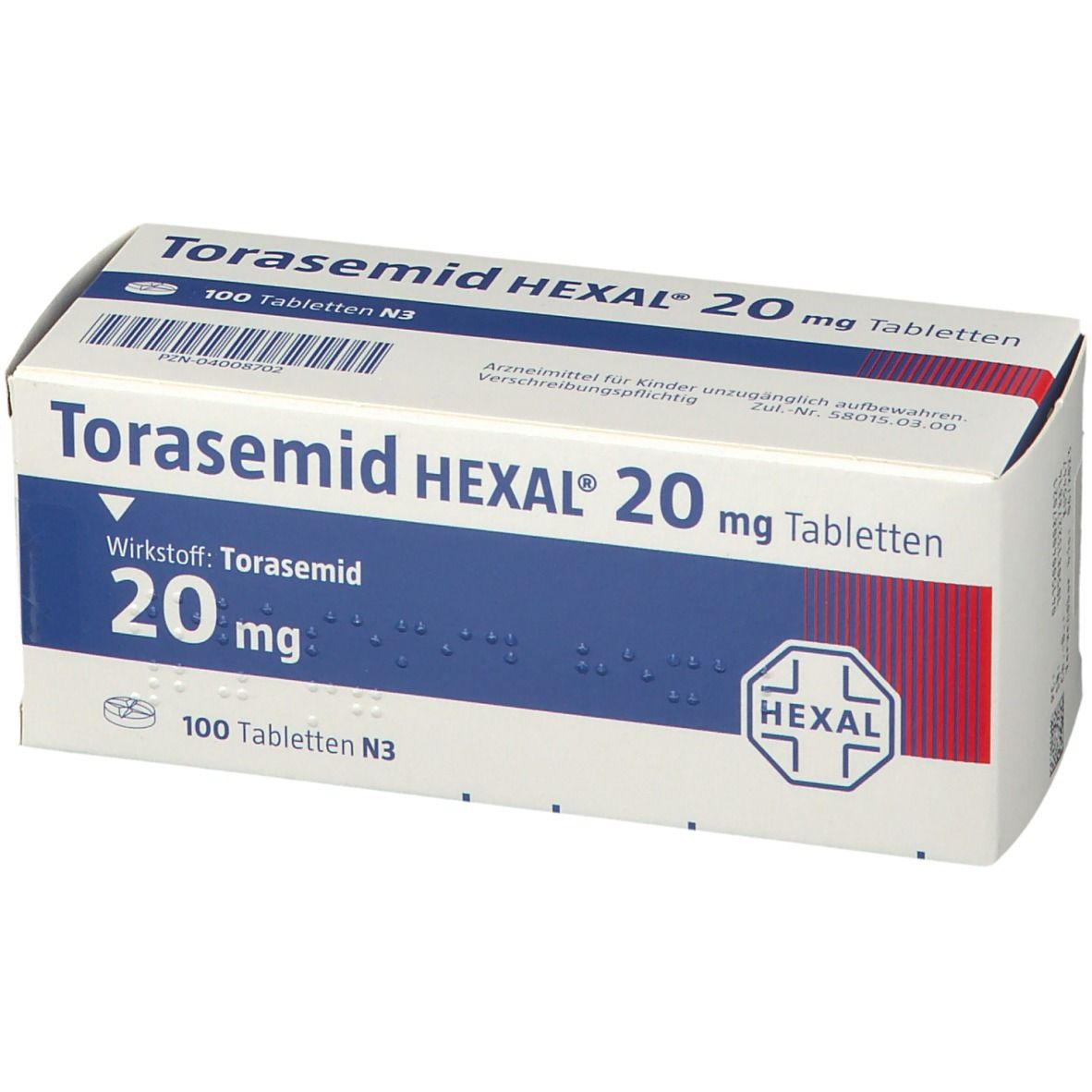 Torasemid Hexal 20 mg Tabletten