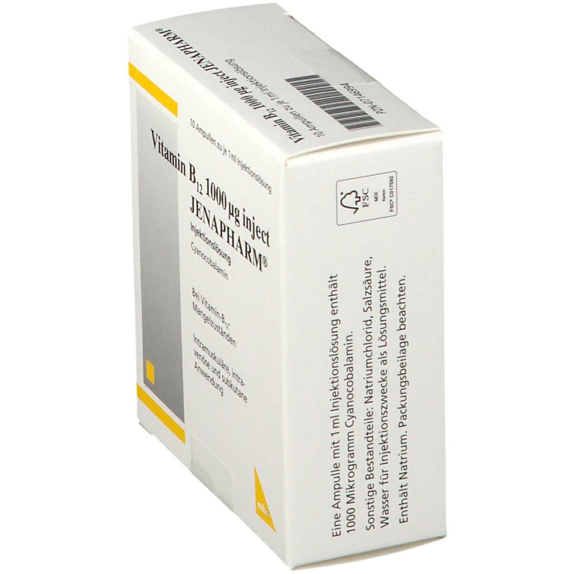 Vitamin B 12 1 mg Inject Jenapharm® Ampullen