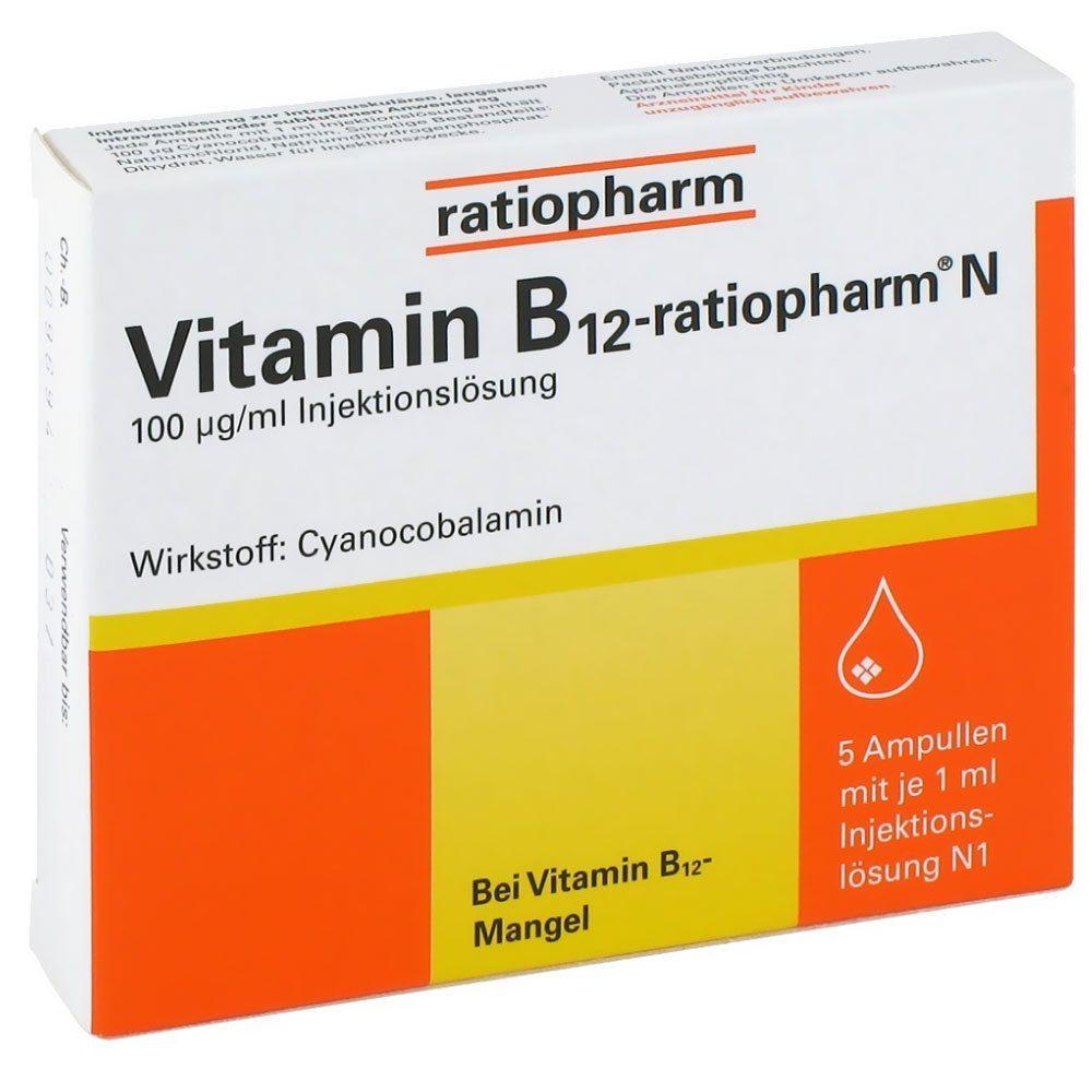 vitamin b12 injektion