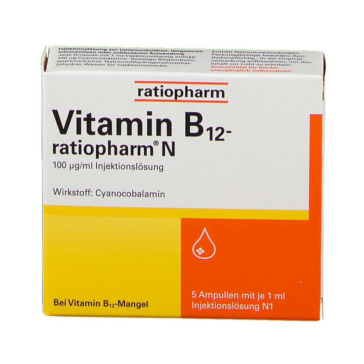 Vitamin B6 und B12 Injektionen zur Gewichtsreduktion