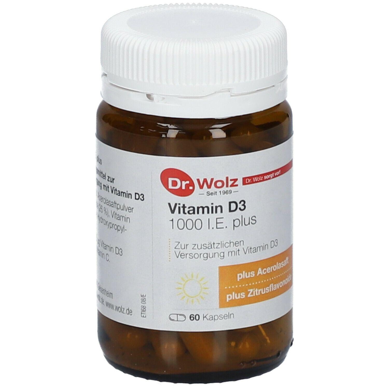 Vitamin D3 1000 I.E. plus