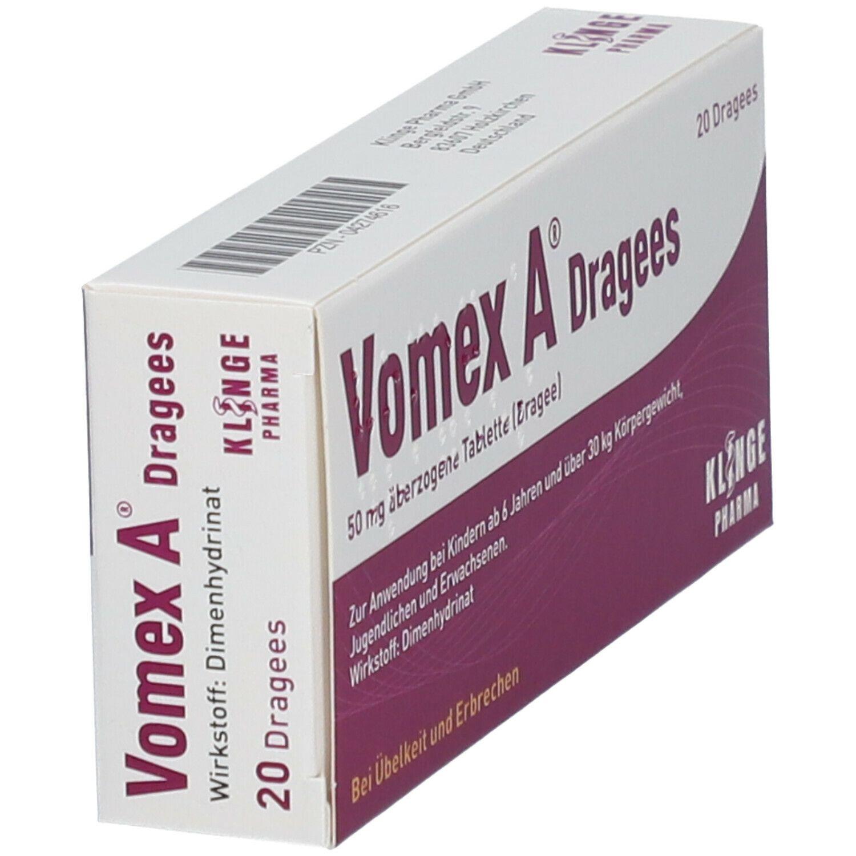 Kann man vomex bei kater nehmen