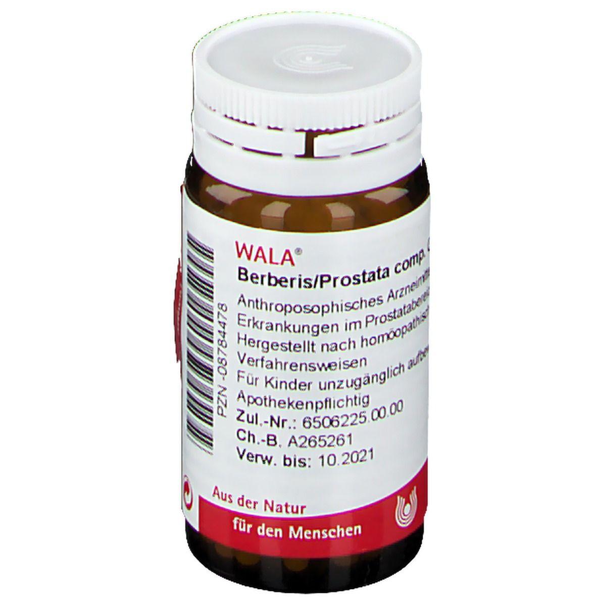 berberis prostata comp wirkung