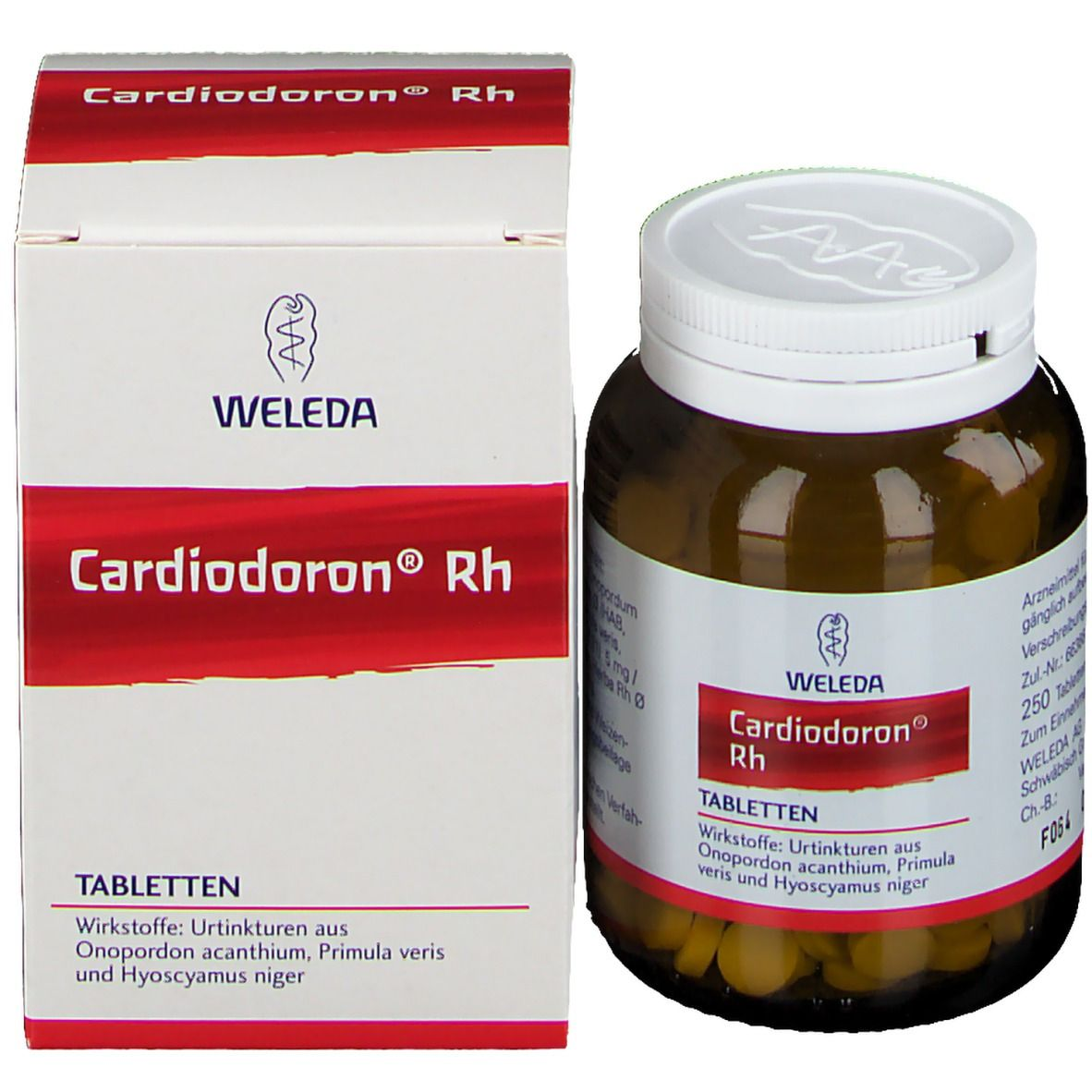 Weleda Cardiodoron RH Tabletten