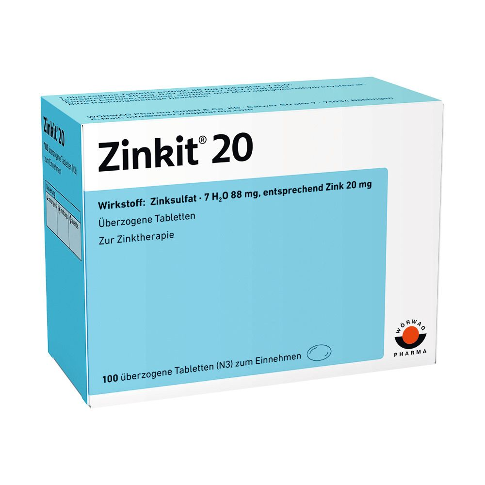 Zinkit 20 Dragees