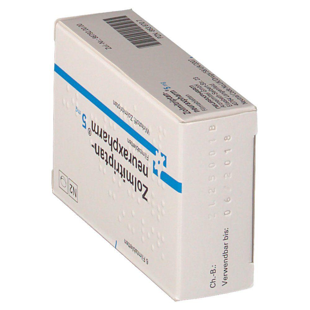 ZOLMITRIPTAN neuraxpharm 5 mg Filmtabletten